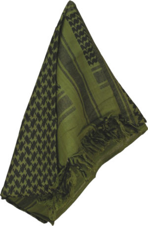 Camcon Shemagh Olive/Black