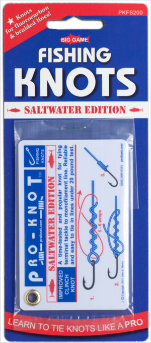 Pro-Knot Saltwater Fishing Knot Cards