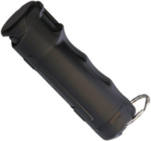 Police Magnum Flip Top Pepper Spray Black