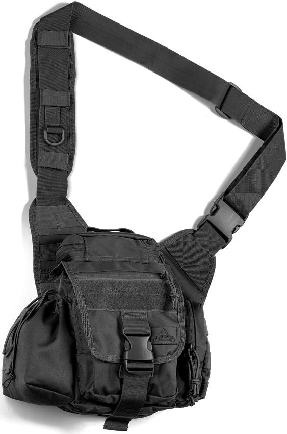 Red Rock Outdoor Gear Hipster Sling Bag – Black