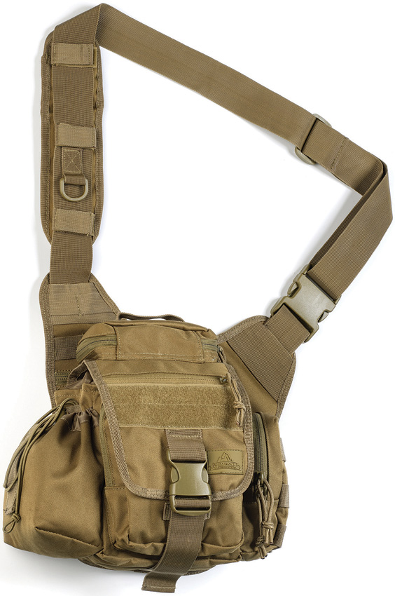 Red Rock Outdoor Gear Hipster Sling Bag – Coyote