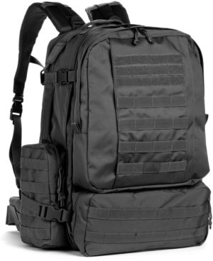 Red Rock Outdoor Gear Diplomat Backpack Black