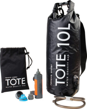 Renovo Water MUV Tote Gravity Water Bag