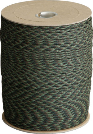 Atwood Rope MFG Parachute Cord Woodland Camo