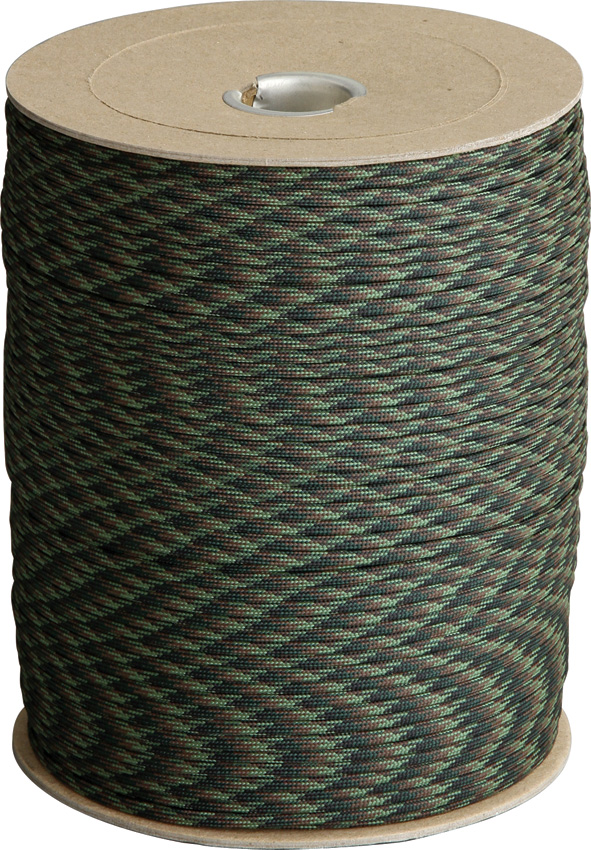 Atwood Rope MFG Parachute Cord Woodland Camo
