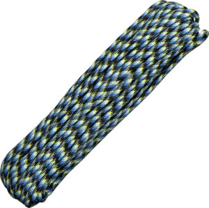 Atwood Rope MFG Parachute Cord Blue Snake