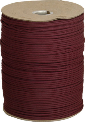 Marbles Parachute Cord Maroon 1000 ft