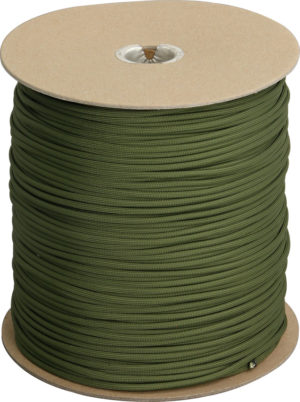 Atwood Rope MFG Parachute Cord Olive Drab