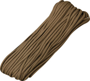 Marbles Parachute Cord Brown 100 ft