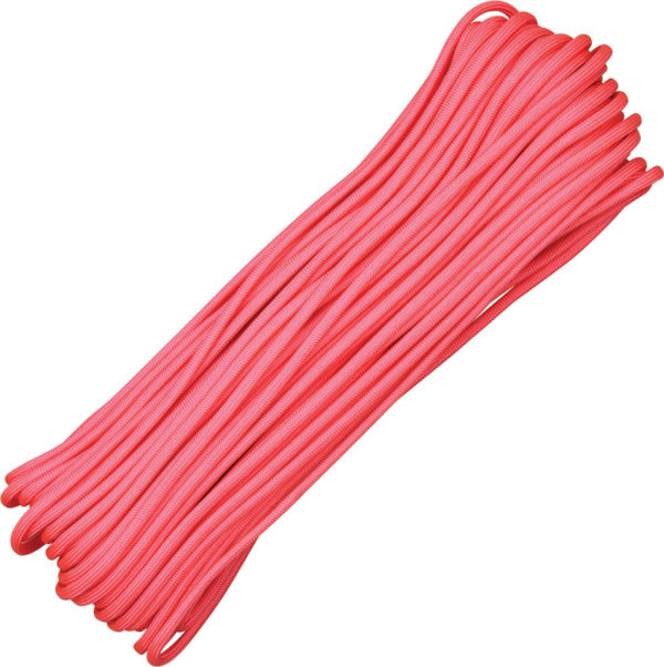 Atwood Rope MFG Parachute Cord Pink 100 ft