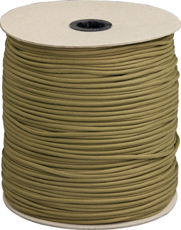Marbles Parachute Cord Coyote 1000 ft