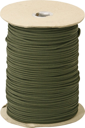 Marbles Parachute Cord OD Green