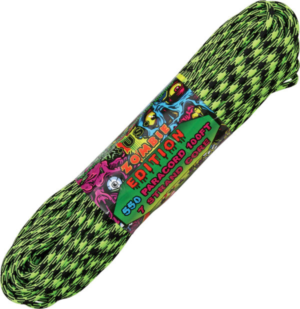 Atwood Rope MFG Parachute Cord Outbreak Zombie