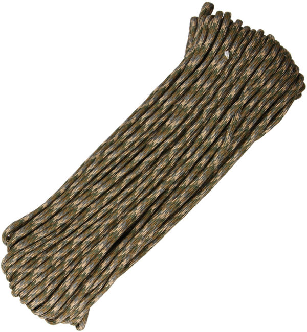 Atwood Rope MFG Parachute Cord Multi-Cam 100ft
