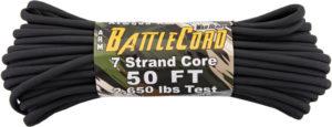Atwood Rope MFG ARM BattleCord Black