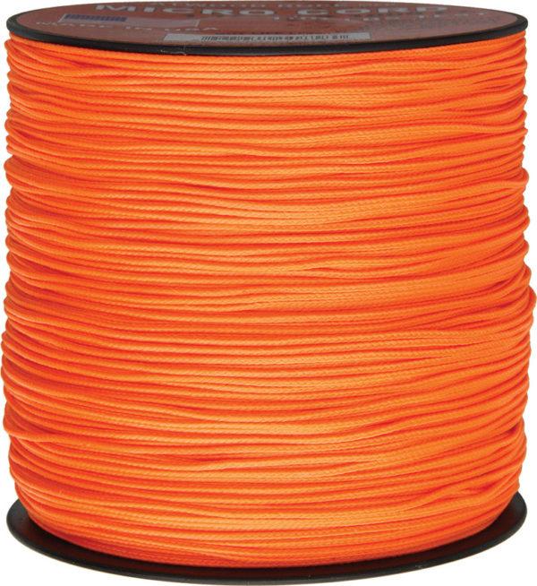 Atwood Rope MFG Micro Cord Neon Orange