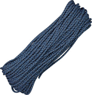 Atwood Rope MFG Parachute Cord Blue Speck