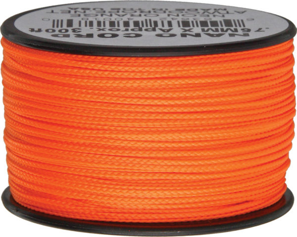Atwood Rope MFG Nano Cord Neon Orange