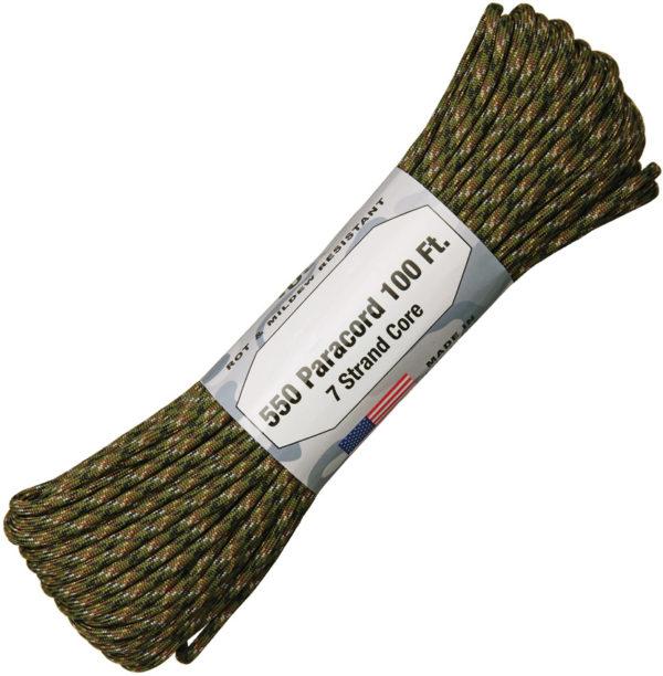 Atwood Rope MFG Parachute Cord Digi Woodland