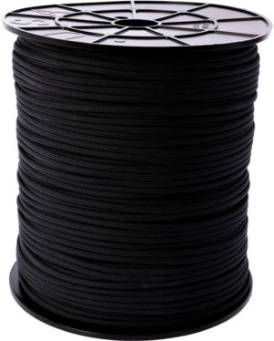 Atwood Rope MFG Parachute Cord Black Spool