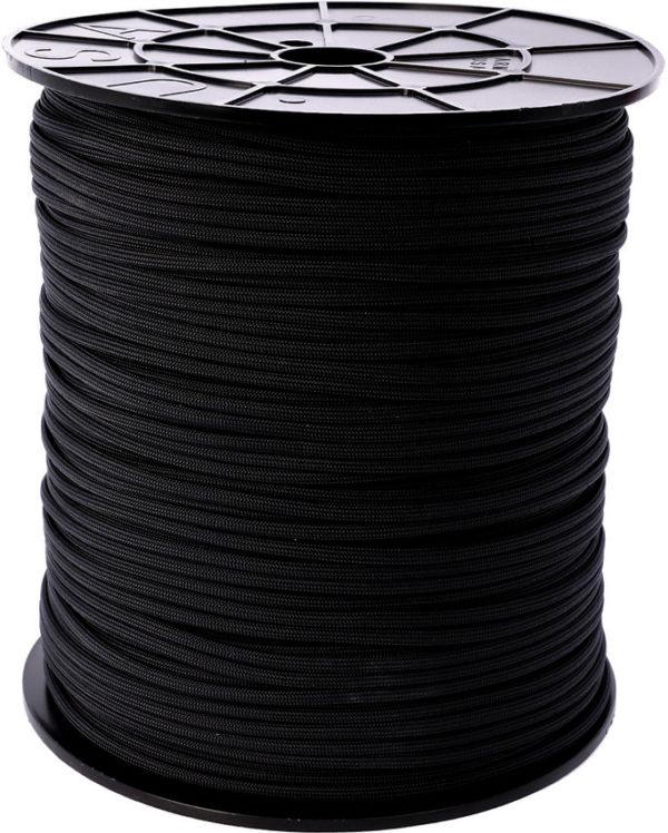 Atwood Rope MFG Parachute Cord Black Spool