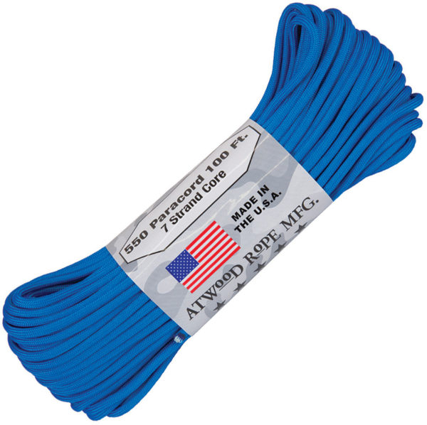 Atwood Rope MFG Parachute Cord Blue
