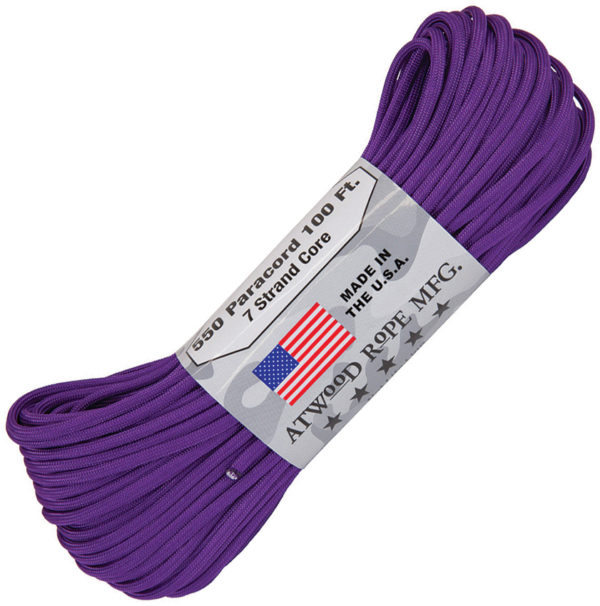 Atwood Rope MFG Parachute Cord Purple
