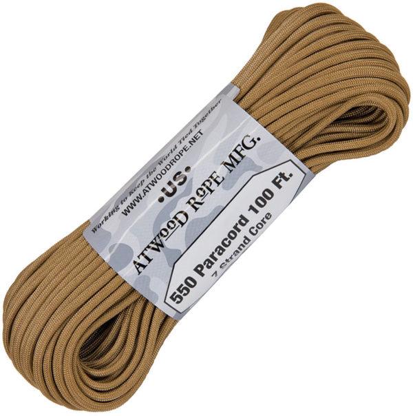 Atwood Rope MFG Parachute Cord Tan