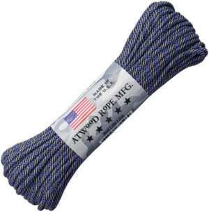 Atwood Rope MFG Parachute Cord Thin Blue Line