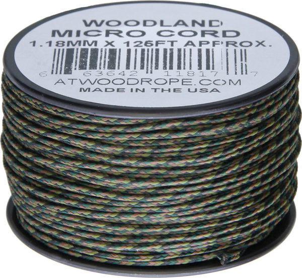 Atwood Rope MFG Micro Cord 125ft Woodland