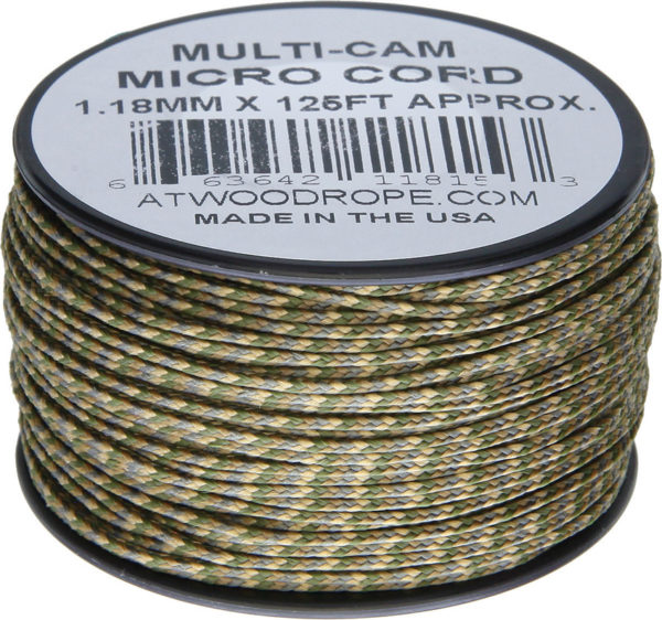 Atwood Rope MFG Micro Cord 125ft Multi-Cam