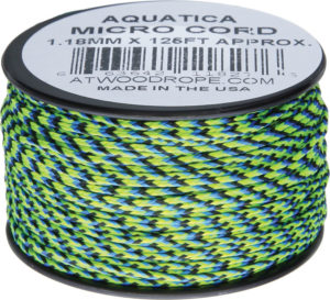 Atwood Rope MFG Micro Cord 125ft Aquatica