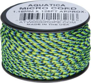 Atwood Rope MFG Micro Cord 125ft Aquatica