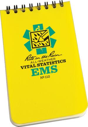 Rite in the Rain EMS Vital Stats 3×5
