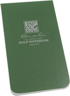 Rite in the Rain Golf Notebook