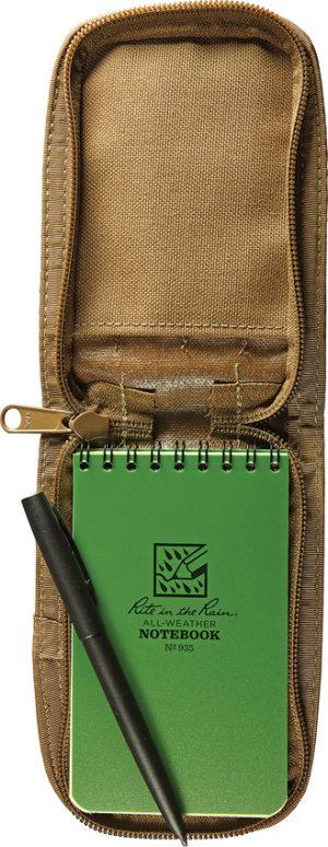 Rite in the Rain 3 x 5 Kit Green Book/Tan Cover