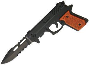 Rough Ryder Pistol Knife (3″)