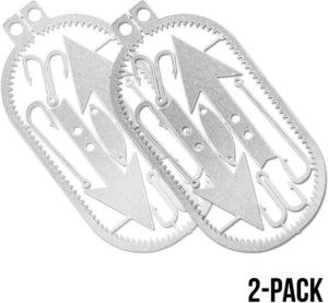 Readyman Dog Tag Survival Card 2-Pack