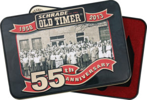 Schrade Old Timer 55th Anniversary Tin
