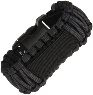 Survco Tactical Para Cord Watch Band Black