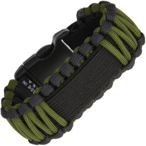Survco Tactical Para Cord Watch Band OD Green
