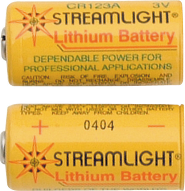 Streamlight Replacement Lithium Batteries