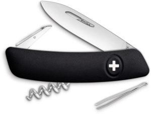 Swiza D01 Swiss Pocket Knife Black (2.875″)