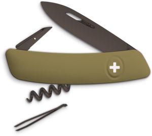 Swiza D01 B Olive Swiss Pocket Knife