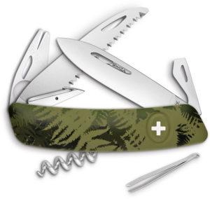 Swiza TT05 Tick Tool Olive Fern