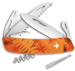 Swiza TT05 Tick Tool Orange Fern