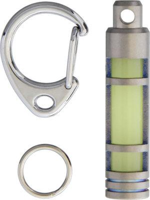 TEC Accessories Embrite Glow Fob Titanium