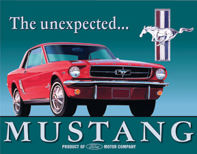 Tin Signs Ford Mustang