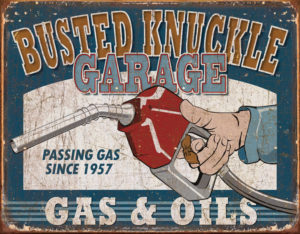 Tin Signs BNG Gas & Oils