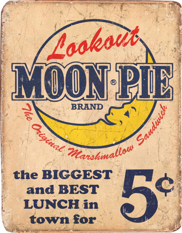 Tin Signs Moon Pie Best Lunch